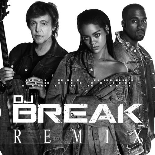 Four Five Seconds (DJ Break Remix) Cover Art